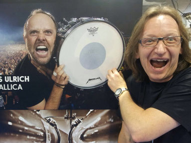 Metallica Cover MY'TALLICA Tribute Band Stephan Zender NAMM Show 2015