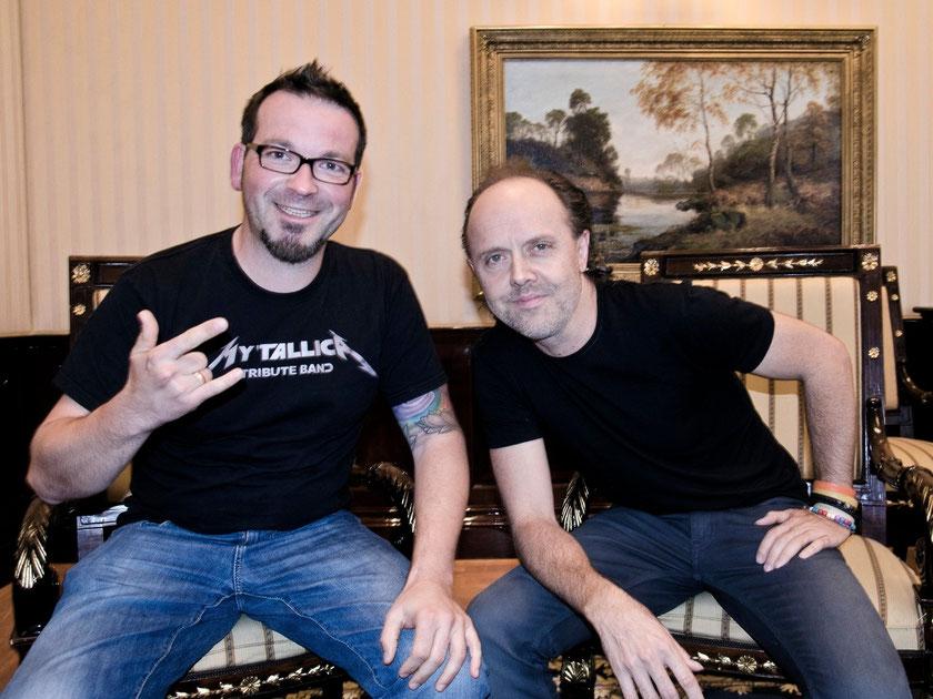 Metallica Coverband trifft Lars Ulrich