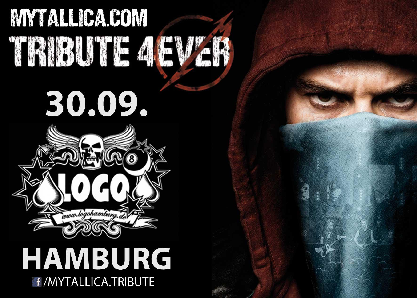 Metallica Tribute Band Coverband MY'TALLICA LOGO Hamburg Flyer 2016