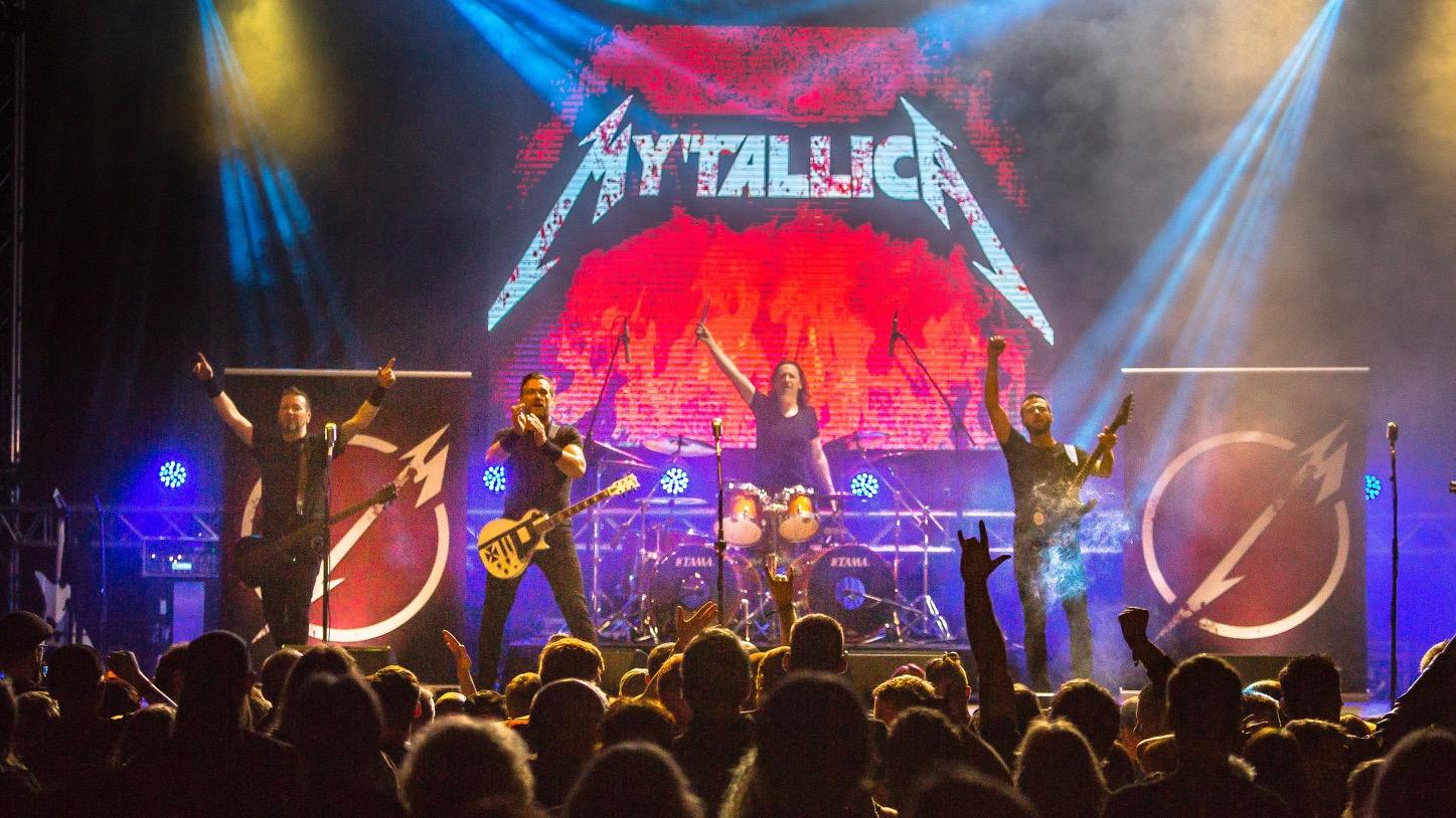 Metallica Tribute Band Coverband MY'TALLICA Rock Am Stück 2016 Tilo Klein