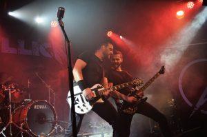 Metallica Coverband MY'TALLICA Tribute Band Rider's Cafe Lübeck LIVE 2016 Rider's Café