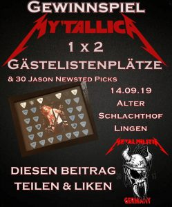 lingen-alter-schlachthof-2019-metal-militia-gewinnspiel-flyer-jason-newsted-plektren-picks