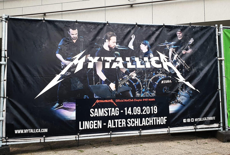 mytallica-bauzaun-banner-lingen-emsland-alter-schlachthof-2019-metal-militia-germany-chapter