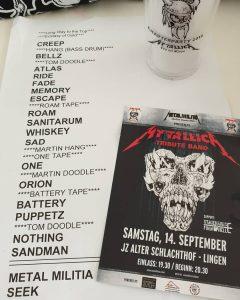 mytallica-lingen-alter-schlachthof-2019-metal-militia-setlist