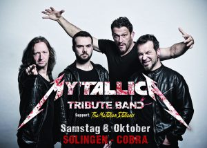 Metallica Tribute Band Coverband MY'TALLICA Cobra Solingen Flyer 2016