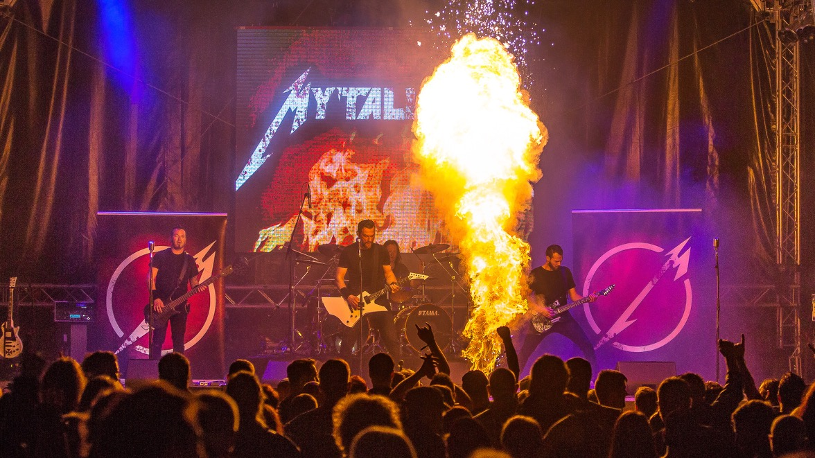 Metallica Tribute Band Coverband MY'TALLICA Rock Am Stück 2016 Tilo Klein