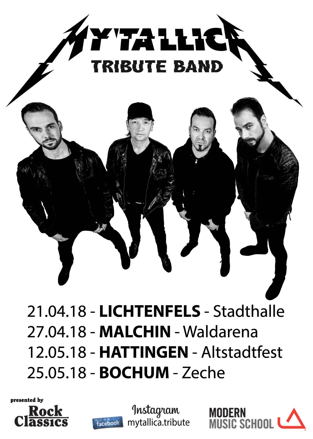 Metallica-Tribute-Band-MYTALLICA-2018-Deutschland-Flyer-Frühjahr-Spring-2018-Shows